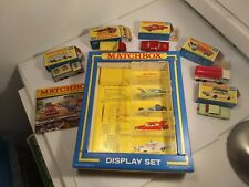 Rare Matchbox Lesney G35 Display Box