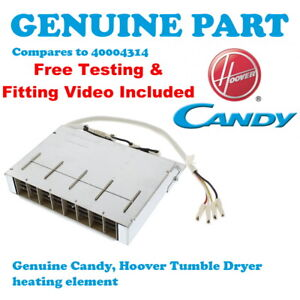 HOOVER VHC 680C-80 VHC680F-80 Tumble Dryer Heating Heater Element 2100W