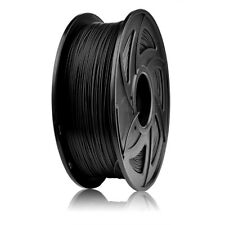 1KG 3D Drucker CF Carbon Fiber Filament 1.75MM  Spool FDM Schwarz