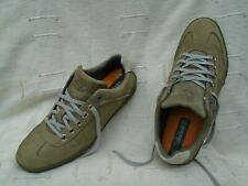UK SIZE 8W MEN'S TIMBERLAND BROWN LEATHER SHOES/TRAINERS