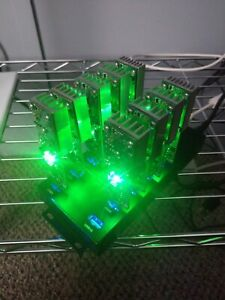 4 GekkoScience Newpac 28-90+GH/s each Mining Lotto Rig Powered Hub Fan 350 GH/s