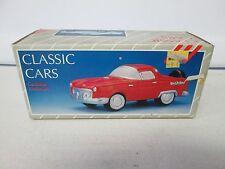 1988 Classic Cars Ceramic 1953 Corvette White