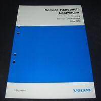 Werkstatthandbuch Volvo LKW Lastwagen Schmieranlage Ölanlage D7A / D7B 1994!