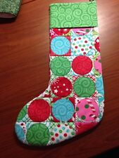 Quilted Christmas Holiday Sticking From Moda Ready Set Snow