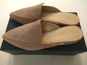 Women's Cole Haan Piper Mule Suede Loafers Size 11 B (M) Twilight Mauve