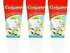 Colgate Kids Minions 4+ Years Mild Flavour Toothpaste 50ml - 3 Pack