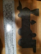 plate steel cutout flat locomotive engine given at 50th anniversary Tamper Corp.
