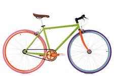 "Vélo fitness 28"" Fixie / Singlespeed Vert Vélo Neuf TC 47 cm KS Cycling 304R"