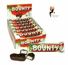 BOUNTY DARK CHOCOLATE 57g x12Bars Case Box Full Gift Lot Free Delivery Cheapest