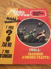 MOTO REVUE 1973 N° 2121 avril Honda 350 four IMOLA Solex 6000 Monthléry Sanglas
