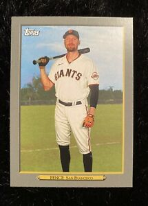 2020 TOPPS UPDATE HUNTER PENCE SAN FRANCISCO GIANTS TURKEY RED CARD TR-4