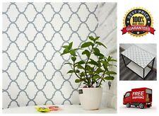 Peel and Stick Paper Trellis Waterproof Self-Adhesive Wallpaper 17.7'' x 78.7''