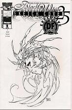 Witchblade # 25 TCC Dynamic Forces Sketch Black Foil Stamp # 271 of 500 COA
