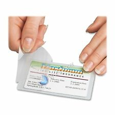 """Qty 100 Hot 3Mil. 2.63"""" x 3.95"""" Laminating Pouches Hunting Finish License Clear."""