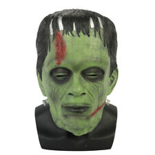 Frankenstein Mask Latex Halloween Scary Horror Dress Costume Party Masks Props