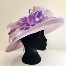 Hawkins Collection Lilac Occasion Hat - Wedding - Formal