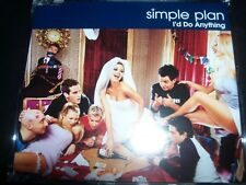 Simple Plan I'd Do Anything Australian CD Single – Like New