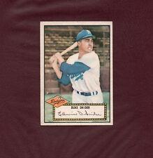 1952 Topps DUKE SNIDER baseball card #37 ***GORGEOUS CARD*** *NO CREASES* WOW!!