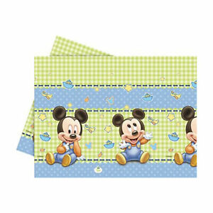 Tovaglia Disney Baby Mickey 120x180 cm feste di compleanno a tema 1996