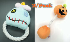 Plush Rope Squeaky Halloween Dog Toy Puppy Squeaker Chew Toy Stuffed Cat Toy