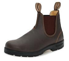 Blundstone Style 550 Australian Chelsea Boots in Walnut Brown Premium Leather