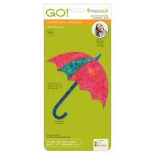 AccuQuilt GO! Fabric Cutter Cutting Die Dancing Umbrella by Edyta Sitar 55178