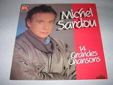 MICHEL SARDOU 33 TOURS HOLLANDE 14 GRANDES CHANSONS