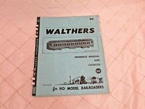Walthers 1959 Reference Manual Catalog HO Model Railroads 2nd Printing Vtg Train