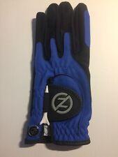 Zero Friction Left Junior Universal Fit One Size Golf Glove Blue/Black