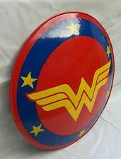 "Brand New DC Super Hero Wonder Woman Shield For Halloween Steel 22"" Amazon War"
