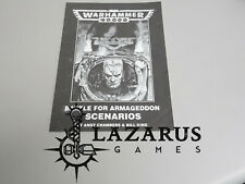 Warhammer 40k Battle for Armageddon Scenarios (oop, 2nd Ed)
