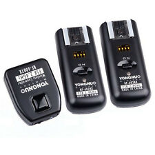 New Yongnuo RF-602 2.4GHz Wireless Remote Flash Trigger + 2 Receivers for Canon