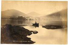 Ecosse, Scotland, Loch Lemond, Glen Luss, vue panoramique  Vintage albumen print