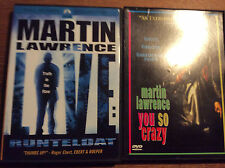 Martin Lawrence [2 DVD] LIVE Truth in...+ You So Crazy / American Comedy StandUp