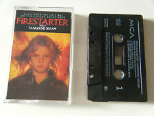 TANGERINE DREAM FIRESTARTER ORIGINAL MOTION PICTURE SOUNDTRACK CASSETTE TAPE MCA