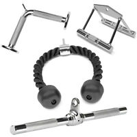 A2ZCare Cable Attachments: Double D Handle, Tricep Rope, Rotating Bar, V Shaped