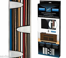 Bell'O TV Cable Concealer Trunking Wire Cord Management Hiding Wall Mount System