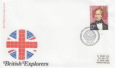 (43045) GB FDC Explorers Charles Sturt - Bureau 18 April 1973 NO INSERT