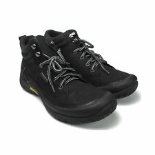 Soeado Men's Hiking Winter Fashion Leather Boot (D,M) 60133 CAMEL & BLACK