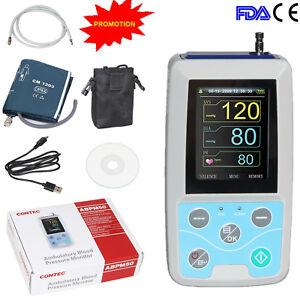 24-Stunden-Langzeit-Blutdruck-Monitor  Analysis Software ABPM50 CONTEC NEW CE
