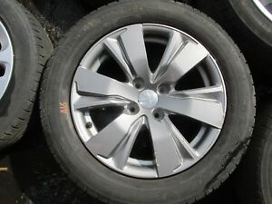 """PEUGEOT 2008 - 16"""" ALLOY WHEEL AND TYRE - 195/60/16"""" - ref:A16"""