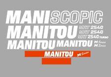 Sticker, aufkleber, decal - MANITOU MANISCOPIC MRT 2540