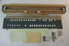 O Scale Vintage Walthers Dining Car Kit - Partially Completed
