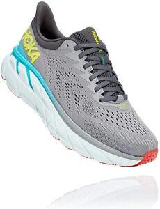 Hoka 1110508-WWH: Men's Clifton 7 White/White Running Shoes