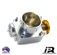 80mm Polished Throttle Body Fits NISSAN SKYLINE R33 R34 GTST RB25 RB25DET