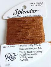 Splendor thread yarn silk S890+ 12 ply strandable cross stitch yarn embroidery