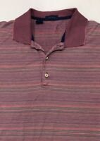EUC Men's Jeff Rose Polo Shirt Size XL Short Sleeve 100% Cotton Made in Italy