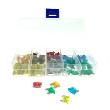 120pcs Mini Assorted Car Truck Low Profile Fuse 5,7.5,10,15,20,25,30 AMP