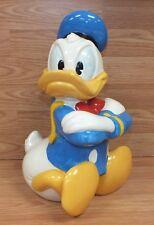 Walt Disney Treasure Craft Ceramic Donald Duck Collectible Cookie Jar! **READ**
