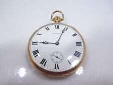 14K GOLD E. HOWARD & CO BOSTON POCKET WATCH WORKING